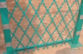 Welded Razor wire mesh Panel