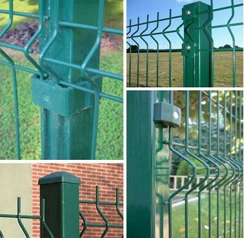 Welded Mesh Fence Post