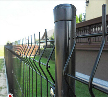 Garden Welded Mesh Fence
