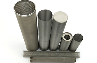 filter tube-fine woven mesh cloth cylindrical filter