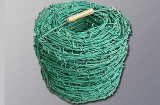 PVC Coated Barbed Wire Roll