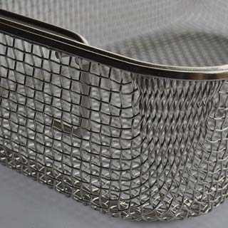 Stainless Steel woven wire mesh Disinfection Basket