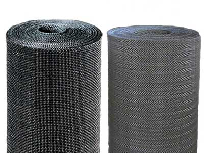 Black Wire Cloth Extruder Screen