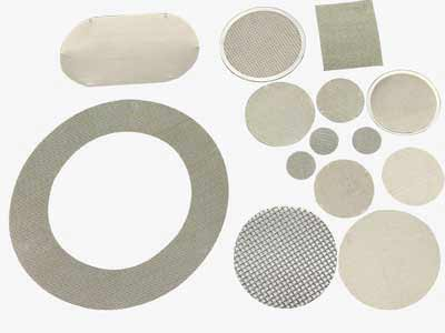 Single Layer Extruder Screen Filter Discs-Circle Extruder Screens,Rectangle and Oval-shaped Extruder Screen