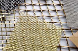 square wire mesh-decorative wire mesh