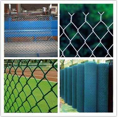 diamond mesh fencing