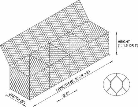 gabion basket-gabion boxes wire mesh-gabion box wire fencing