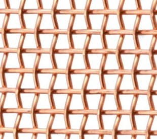 10mesh copper mesh sheet/copper mesh panel