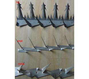 Wall Metal Spikes-Home Security Fence Spikes