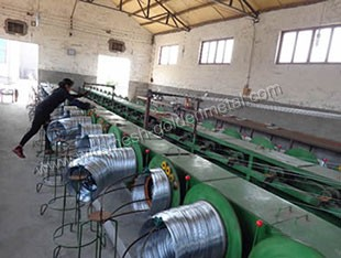 Galvanized Iron Wire Production Line