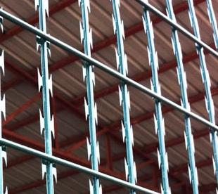 Razor Wire Fence Manufacturers-Welded Razor Mesh Panel