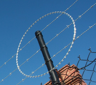 Barbed Wire Fence-Stainless Steel Barbed Wire