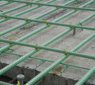 Epoxy Coated Concrete Reinforcing Mesh