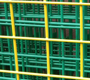 PVC Coated Welded Wire Mesh Panel-Blue-Black-Yellow-etc
