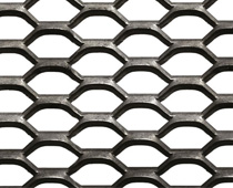 Hexagonal Expanded Metal