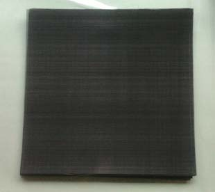Rectangle Herringbone weave black wire cloth extruder screen