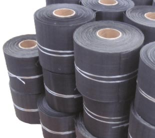 black woven wire mesh cloth/black Iron wire cloth/low carbon steel wire mesh