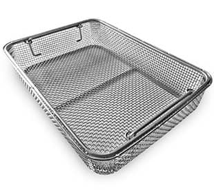 Stainless Steel Disinfection Basket