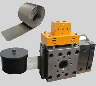 Continuous auto mesh belt filter-reverse-dutch-weave-extruder-screen-belt