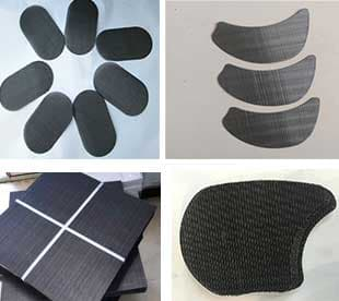 roundrectanglesquareovalcircularcapconetubebowlwaist and abnormity black wire cloth extruder screen