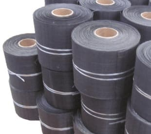 black woven wire mesh clothblack Iron wire clothlow carbon steel wire mesh