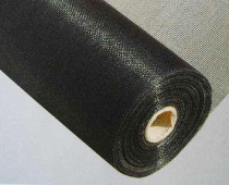 Black wire mesh for plastic extruder